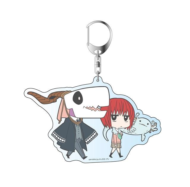 「AnimeJapan 2017」の松竹ブースにて販売されるアクリルキーホルダー(チセ・エリアス)。
