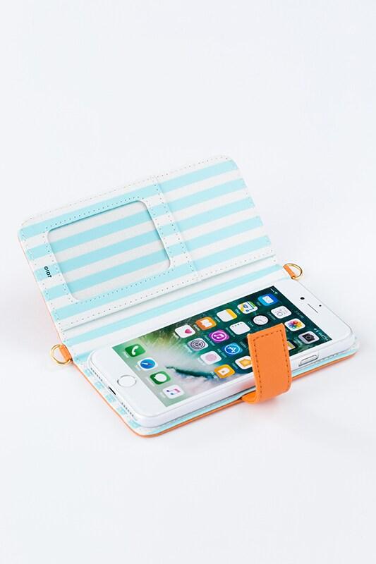 和泉三月モデルのスマートフォンケース(iPhone7用)。