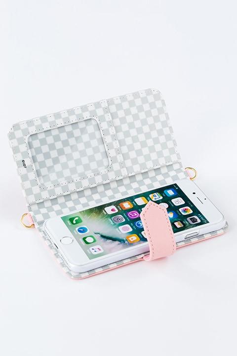 九条天モデルのスマートフォンケース(iPhone7用)。