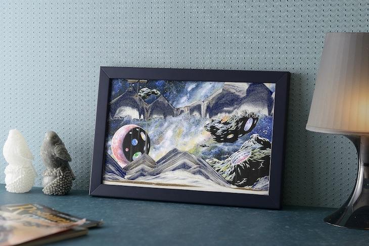 サンドピクチャー「Galaxy ZERO‐零‐」横置き