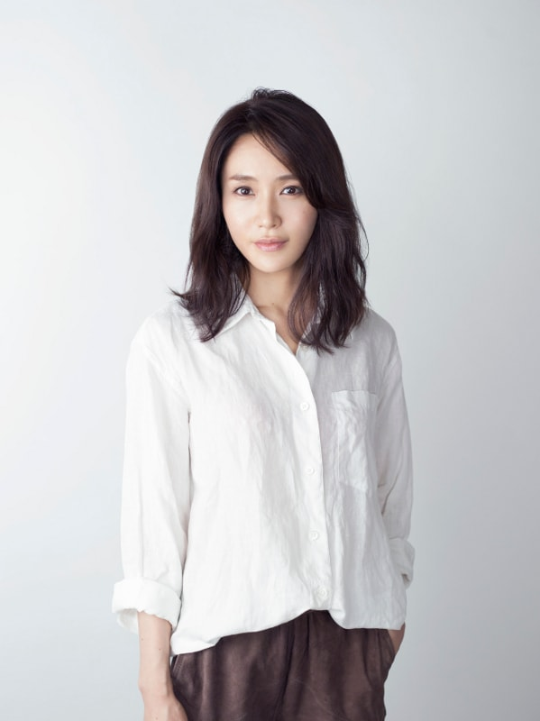 片岡美香役を演じる山口紗弥加。