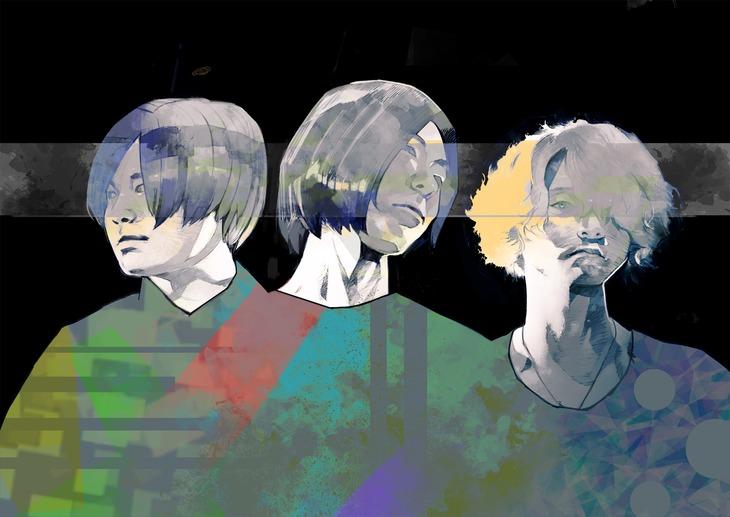 石田スイが描き下ろしたPeople In The Box。