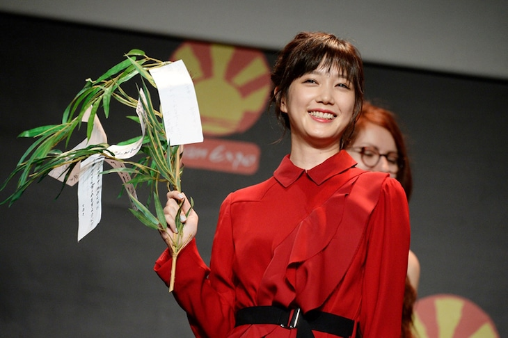 「Japan Expo 2017」に登壇した本田翼。