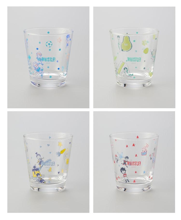 「樋口大輔先生描き下ろし ちびっするグラス」(全4種)