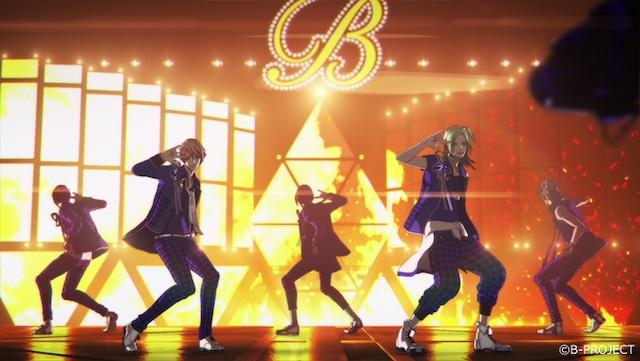 MooNs「Brand New Star」のライブ映像より。
