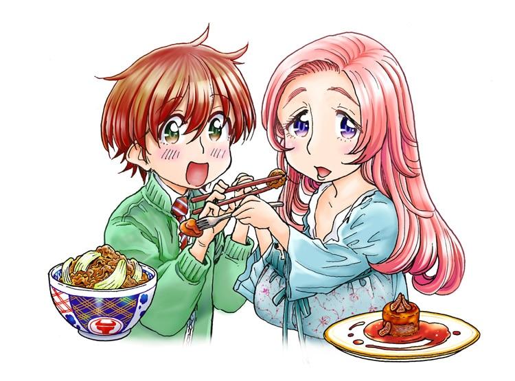 大井昌和「フォアグラと牛丼」カット