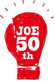 「『あしたのジョー』連載開始50周年プロジェクト」のロゴ。