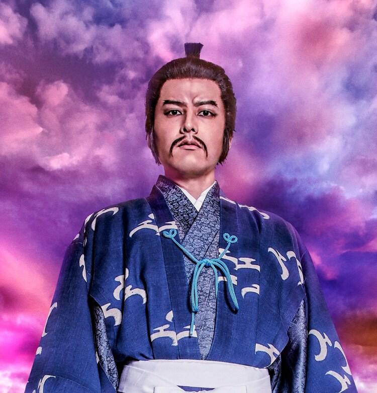 伊藤裕一演じる上杉景勝。