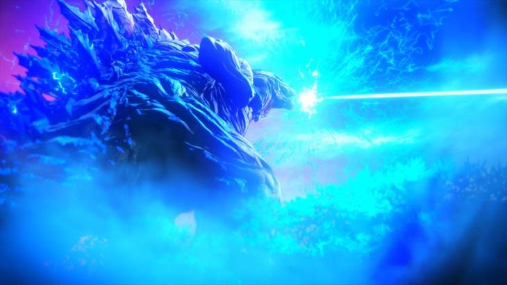 「GODZILLA 怪獣惑星」の場面写真。