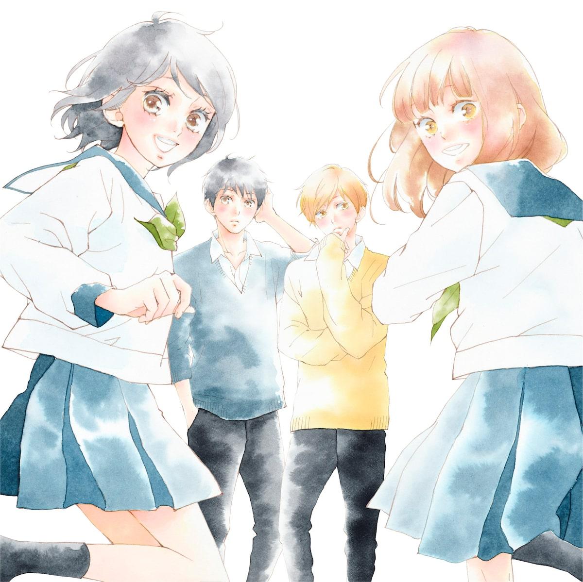 ふりふら 井上苑子のコラボ曲イメージして咲坂伊緒がイラスト描き