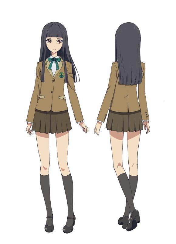 海内紫織(CV:佐武宇綺)。遼の妹で、大人びたクールな性格。