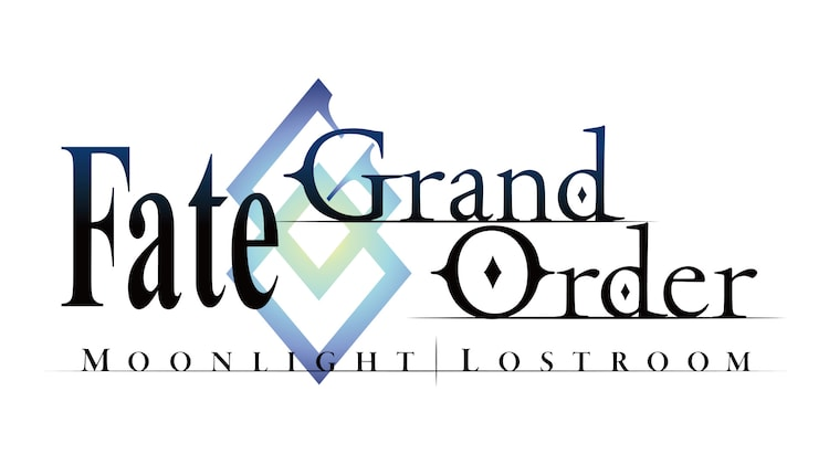 「Fate/Grand Order –MOONLIGHT/LOSTROOM-」ロゴ。