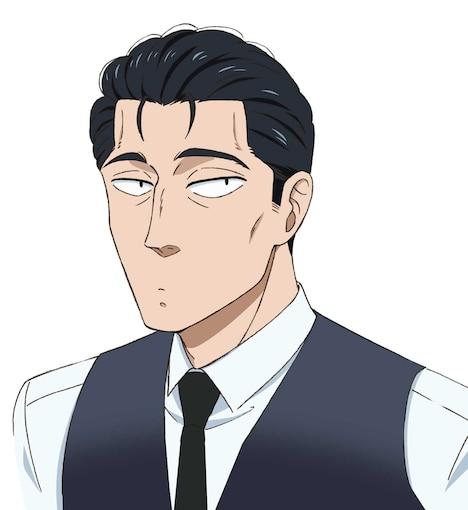 近藤正己のキャラクタービジュアル。