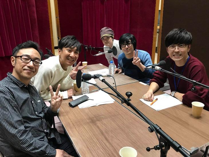 「働く大人たちの日常痛快コントショー 東京03の好きにさせるかッ!」収録の様子。