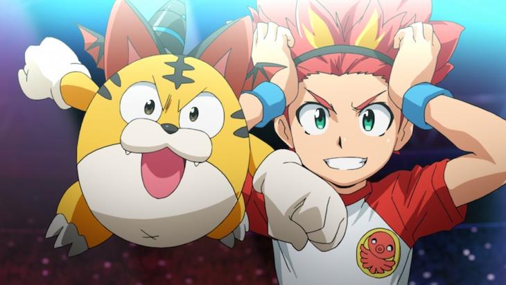 テレビアニメ「パズドラ」PVのワンシーン。