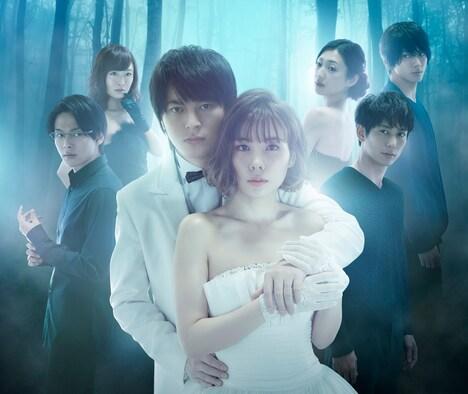 「金曜ナイトドラマ『ホリデイラブ』」ポスタービジュアル