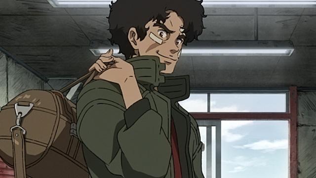 アニメ「メガロボクス」第1弾PVより。