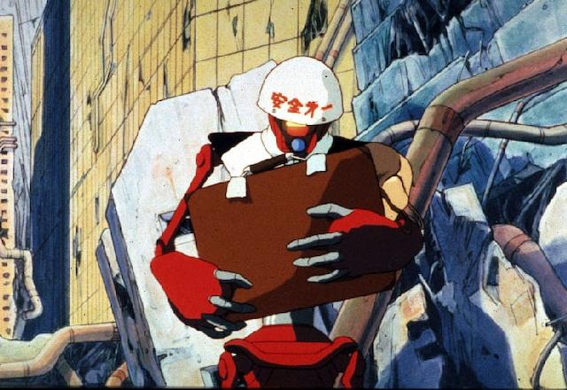「迷宮物語」より、大友克洋監督の「工事中止命令」。(c)KADOKAWA1986