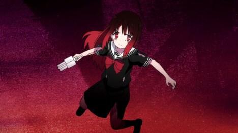 アニメ「魔法少女サイト」ティザーPVより。