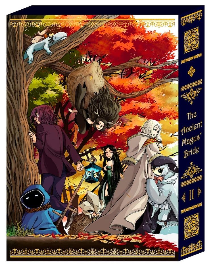 アニメ「魔法使いの嫁」Blu-ray2巻のBOX。