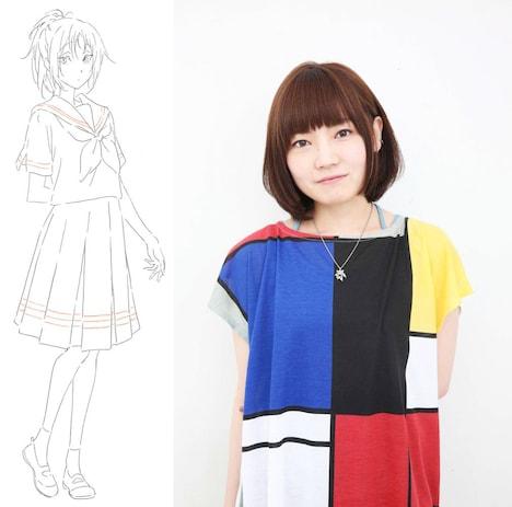 中川夏紀を演じる藤村鼓乃美。
