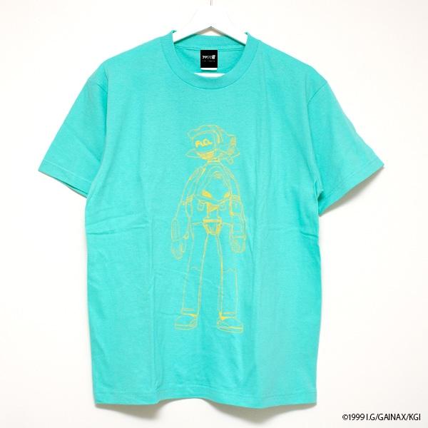 「フリクリクリ展」オリジナルグッズのTシャツ。