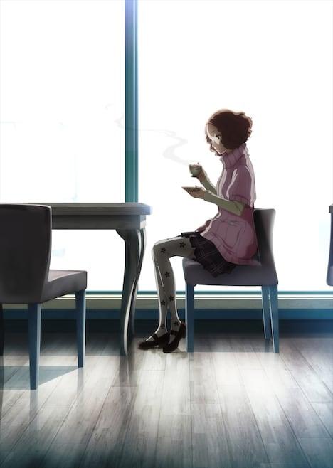 テレビアニメ「PERSONA5 the Animation」キービジュアル(奥村春ver.)