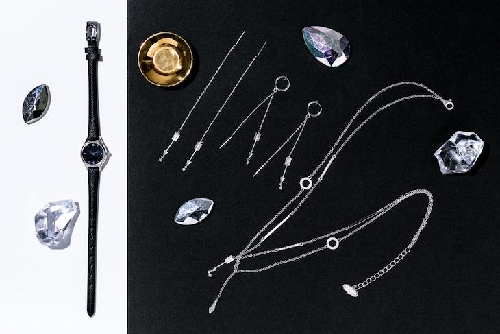 「宝石の国」とコラボレーションしたファッションアイテム。