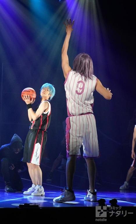 舞台「『黒子のバスケ』IGNITE-ZONE」のゲネプロより。