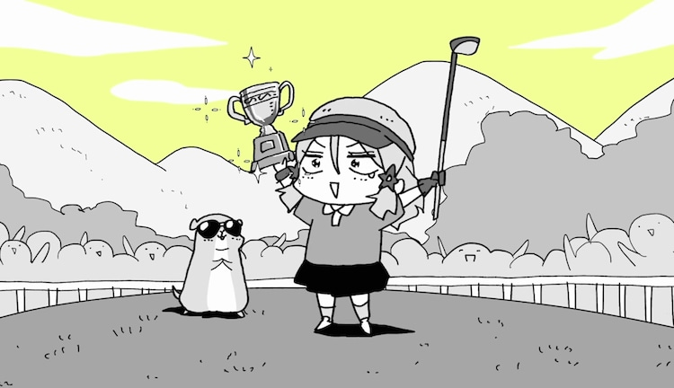 ショートムービー「アンシアちゃん」より。