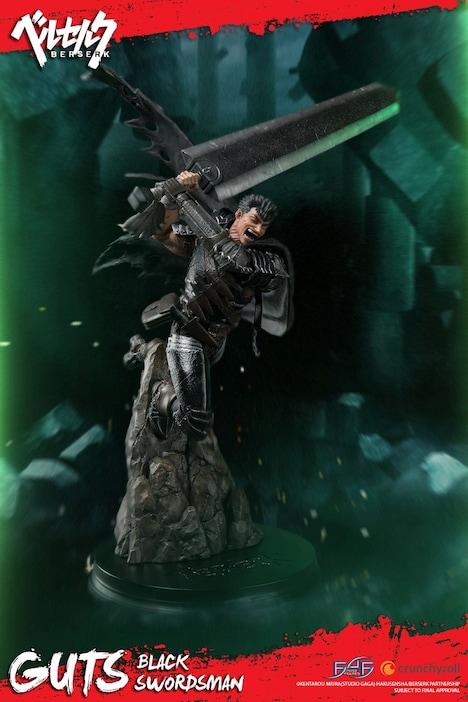 「ベルセルク/ 黒の剣士ガッツスタチュー」