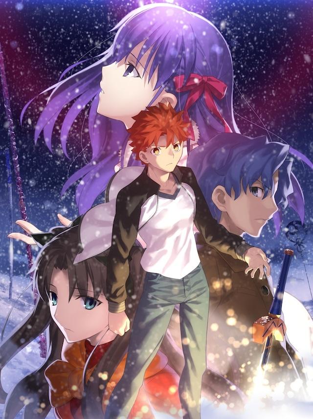 劇場版「Fate/stay night [Heaven's Feel] 』I.presage flower」ビジュアル