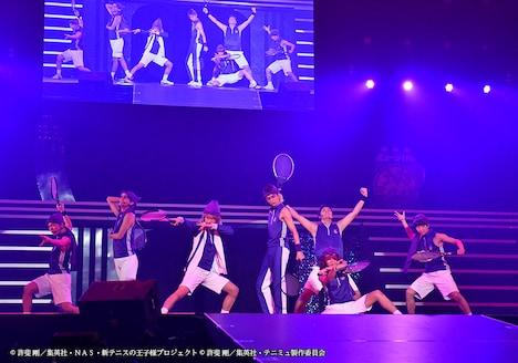 「ミュージカル『テニスの王子様』15周年記念コンサート Dream Live 2018」より、比嘉の面々。