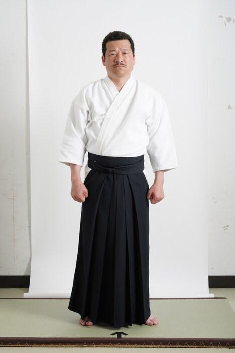 佐藤二朗扮する理子の父・赤坂哲夫。