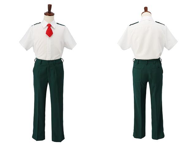 「僕のヒーローアカデミア 雄英高校制服(夏服)シャツ コスプレ衣装」