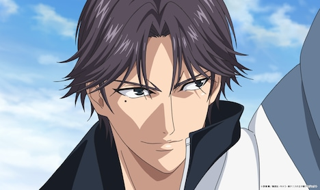 OVA「テニスの王子様 BEST GAMES!! 手塚 vs 跡部」場面カット (c)許斐 剛/集英社・NAS・新テニスの王子様プロジェクト
