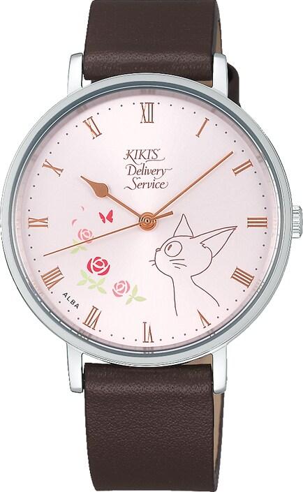 「魔女の宅急便」モデルの腕時計。