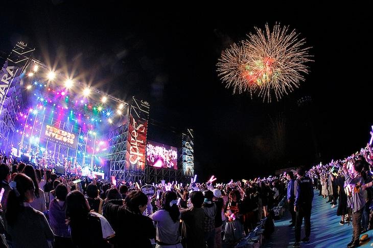 「TSUKIPRO LIVE 2018 SUMMER CARNIVAL」の様子。