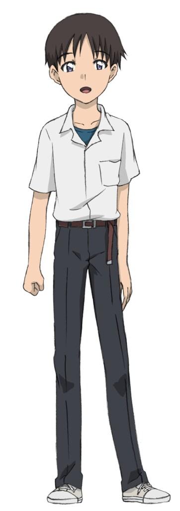 「新幹線変形ロボ シンカリオン」第31話に登場する碇シンジ(CV:緒方恵美)