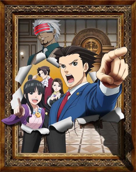 アニメ「逆転裁判 ~その『真実』、異議あり!~ Season 2」メインビジュアル