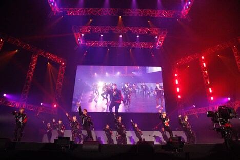 THE RAMPAGE from EXILE TRIBE(撮影:堀田芳香)