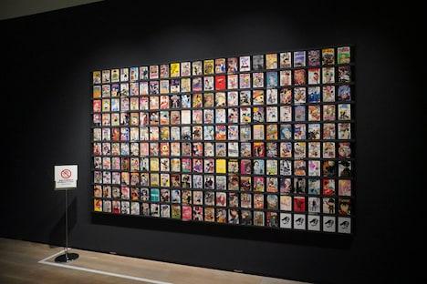 展示タイトルおよび一部を除く2000年以降に刊行された連載作品の1巻。