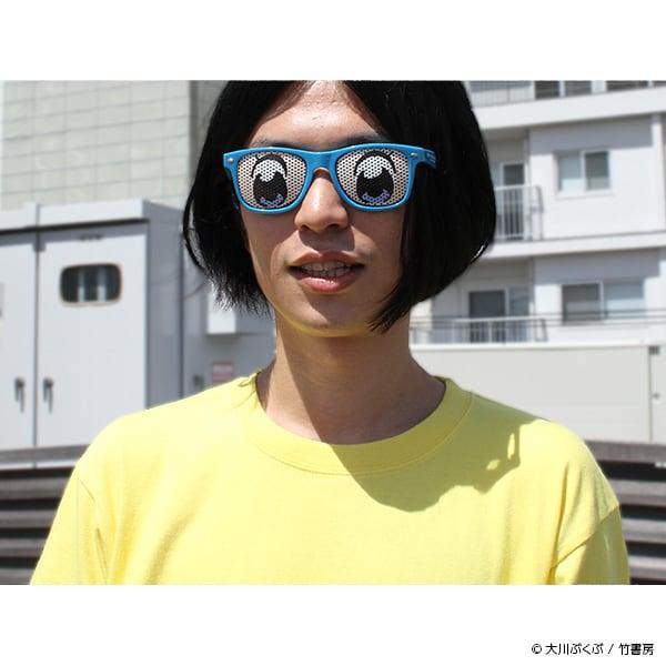 「ポプ子とピピ美になれるサングラス」の着用例。
