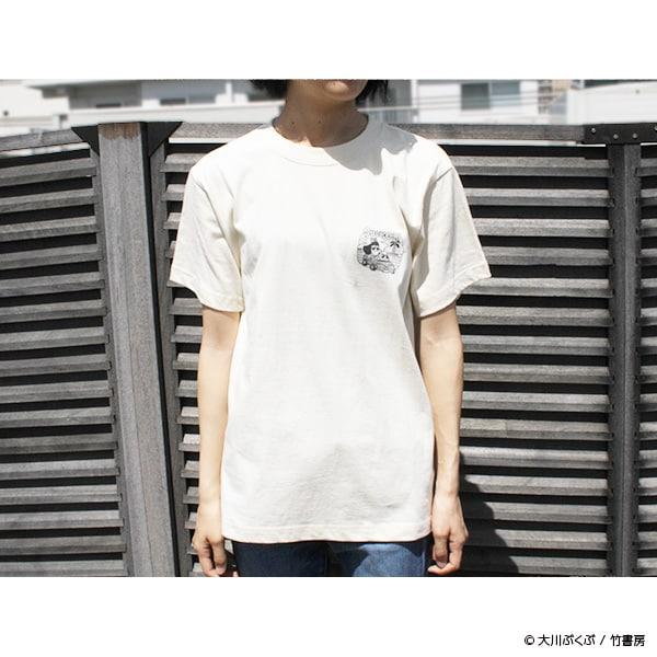 「夏をSUCCESS!!Tシャツ」の着用例。