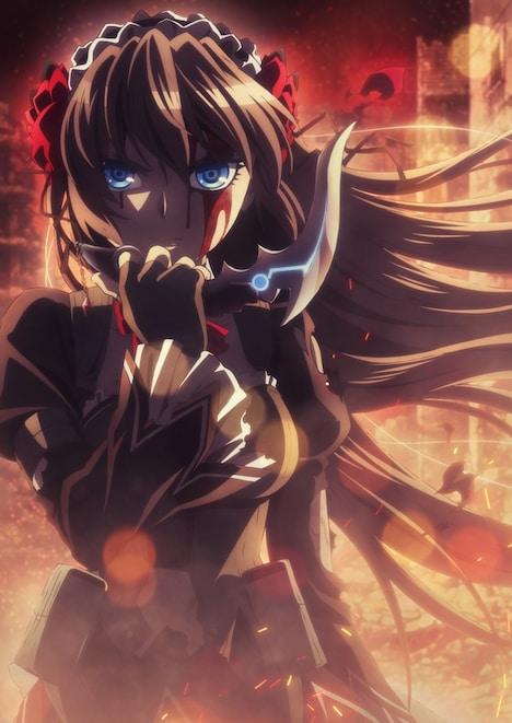 テレビアニメ「魔法少女特殊戦あすか」ティザービジュアル
