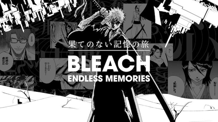 「BLEACH ENDLESS MEMORIES」のビジュアル。(c)久保帯人/集英社