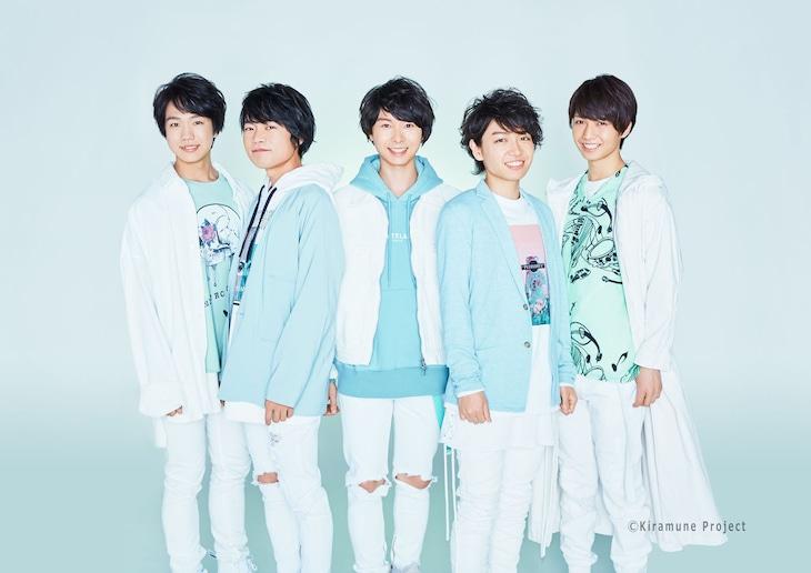 SparQlewのメンバー。左から吉永拓斗、堀江瞬、上村祐翔、千葉翔也、保住有哉。
