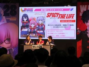 「RELEASE THE SPYCE」ステージイベントの様子。