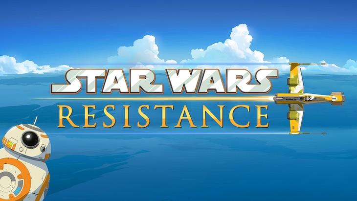 「Star Wars: Resistance」ビジュアル