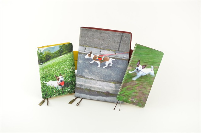 糸井重里の愛犬・ブイヨンをデザインしたほぼ日手帳。